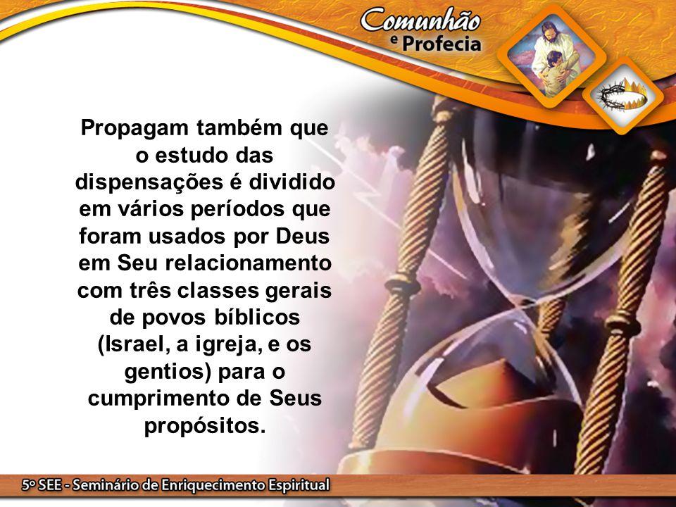 Vai de Adão a Abraão 1º PERÍODO Vai de Abraão a Cristo 2º PERÍODO Vai do primeiro ao segundo advento dEle 3º PERÍODO