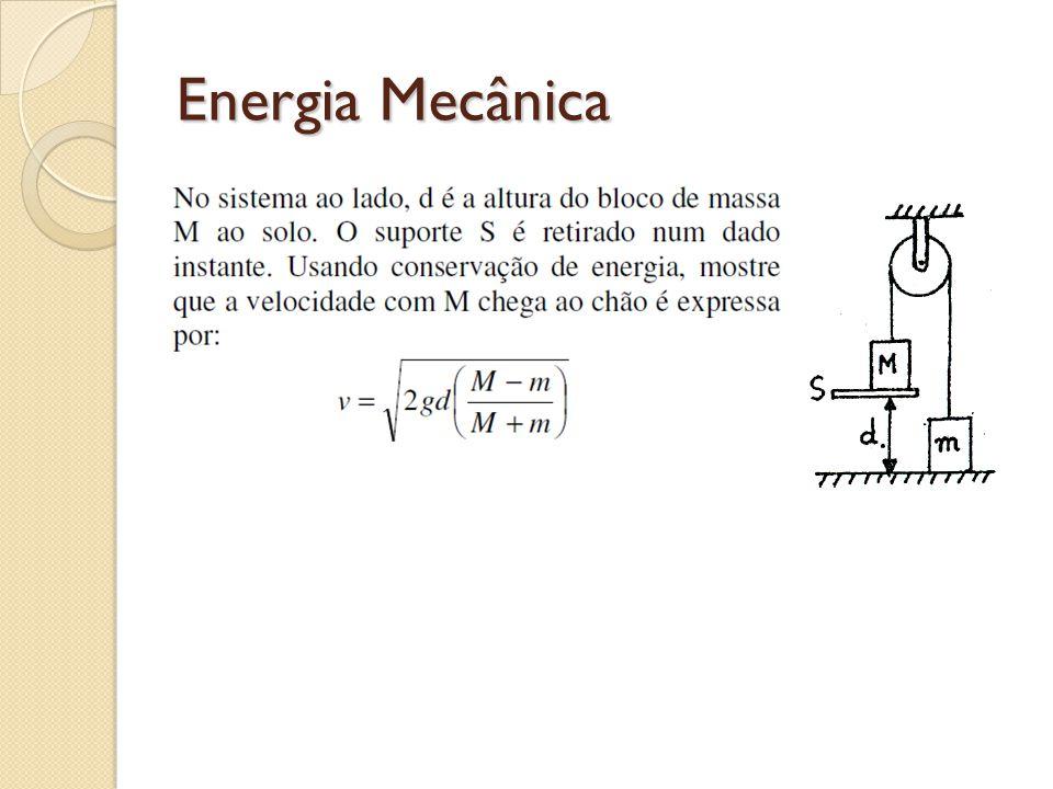Energia Mecânica