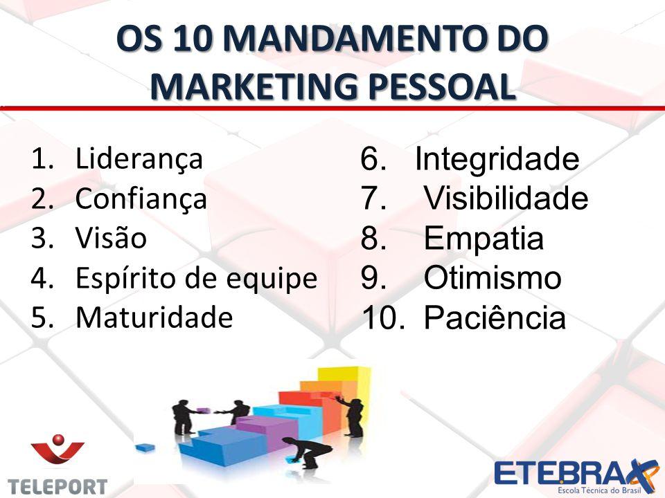 Marketing Pessoal Veja no vídeo de Max Gehringer Max GehringerMax Gehringerhttp://youtu.be/uM8xEcX4Fv4 10 Mandamentos do Marketing Pessoal Marketing Pessoal: