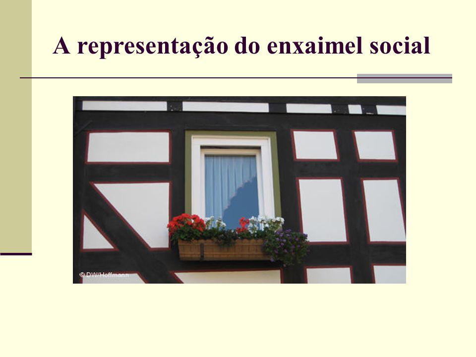 A representação do enxaimel social