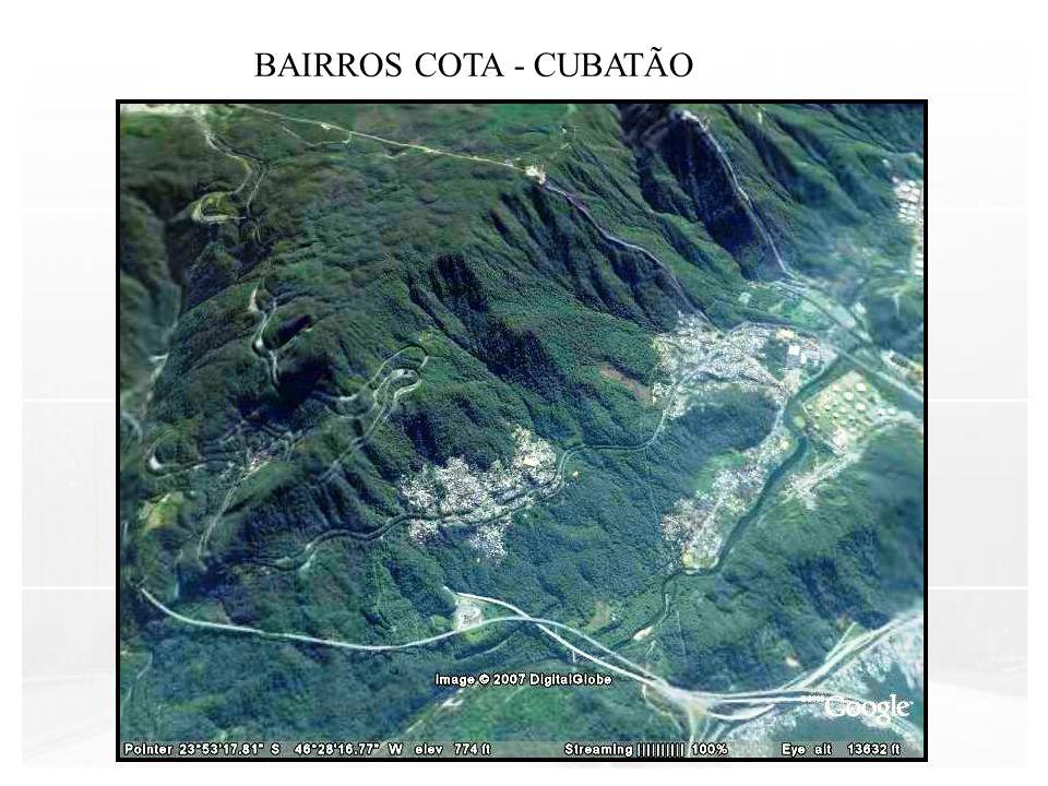BAIRROS COTA - CUBATÃO