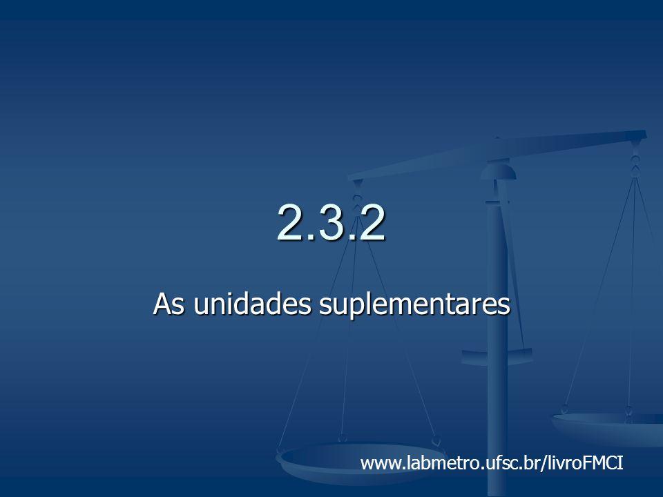 www.labmetro.ufsc.br/livroFMCI 2.3.2 As unidades suplementares