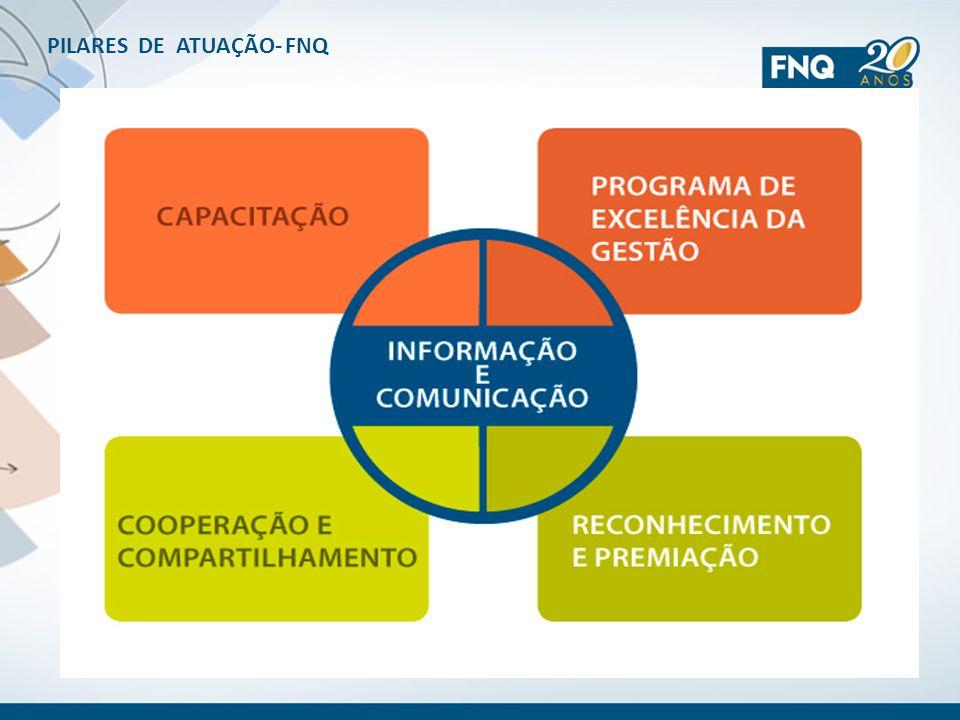 PILARES DE ATUAÇÃO- FNQ