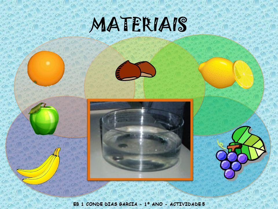MATERIAIS EB 1 CONDE DIAS GARCIA - 1º ANO - ACTIVIDADE 5