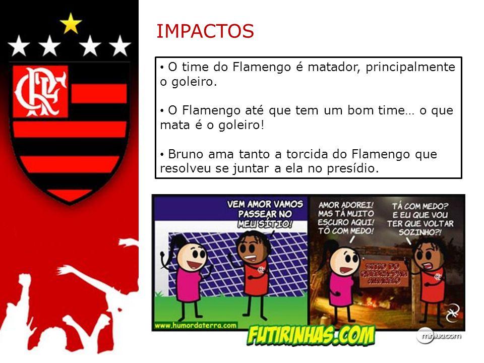 IMPACTOS O time do Flamengo é matador, principalmente o goleiro.