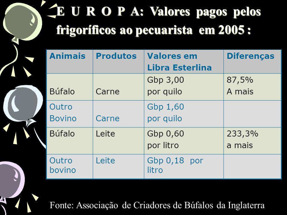 Em 12 meses abatemos o total de 4.500.200 T. – carcaça aproveitável (Fonte IBGE) ano base 2003 Preço médio pago pelos frigoríficos (ano base 2003) = R