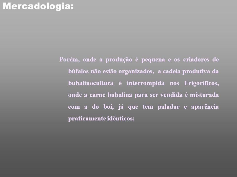 Mercadologia O valor do produto varia de acordo com a lei da oferta e procura. Pelo fato de 99% dos brasileiros desconhecerem a importância da carne d