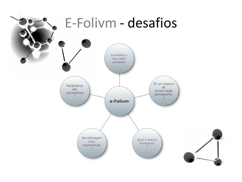 E-Folivm - desafios