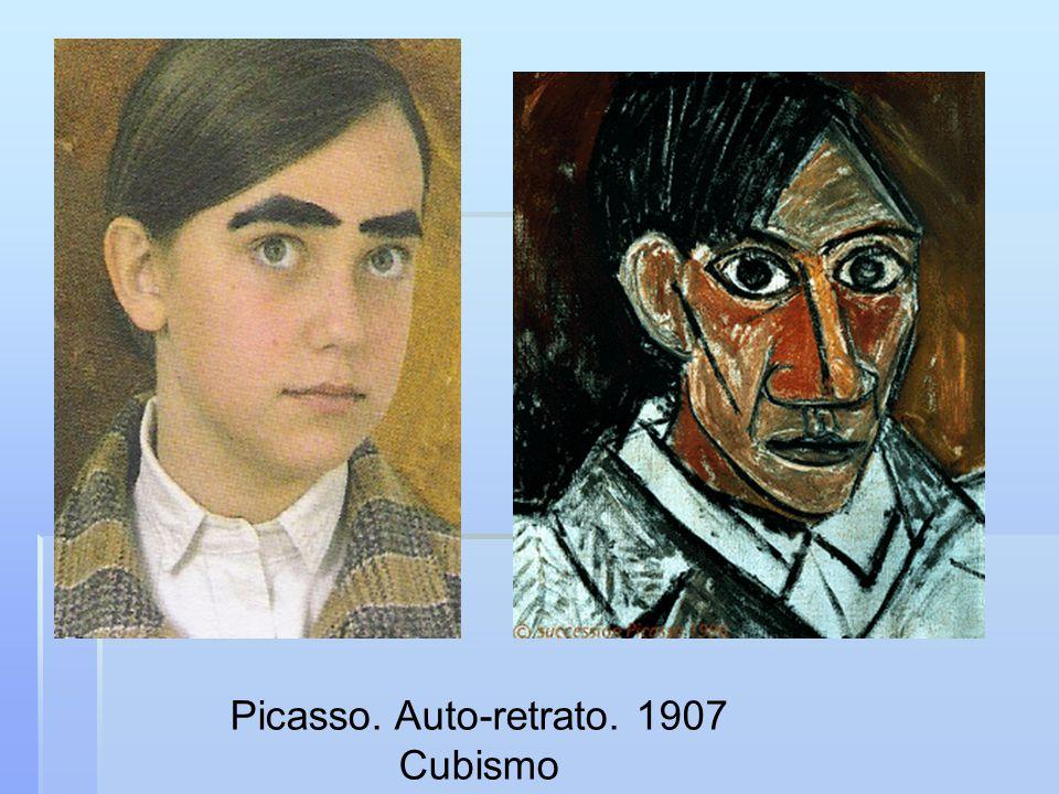 Picasso. Auto-retrato. 1907 Cubismo