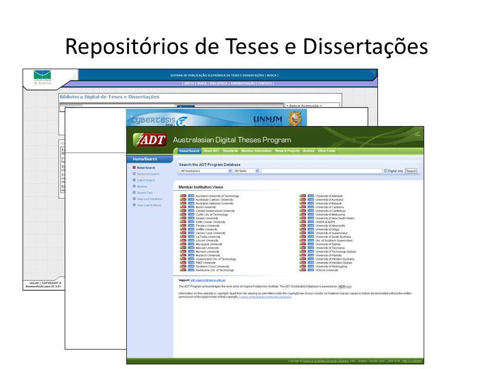 Repositórios de Teses e Dissertações
