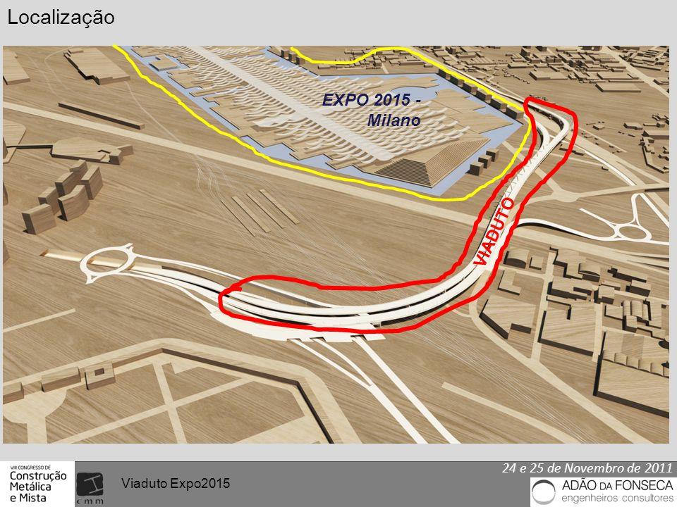 Viaduto Expo2015 EXPO 2015 - Milano VIADUTO Localização