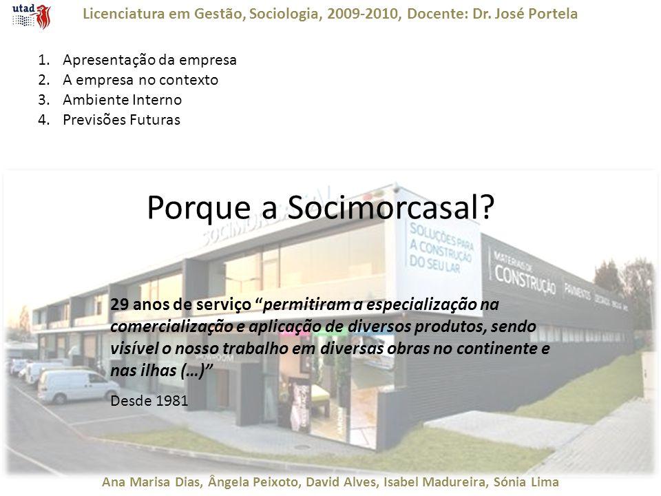 Licenciatura em Gestão, Sociologia, 2009-2010, Docente: Dr. José Portela Ana Marisa Dias, Ângela Peixoto, David Alves, Isabel Madureira, Sónia Lima 1.