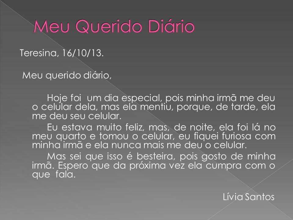 Teresina, 16/10/13.
