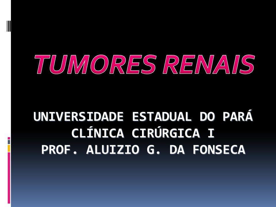 UNIVERSIDADE ESTADUAL DO PARÁ CLÍNICA CIRÚRGICA I PROF. ALUIZIO G. DA FONSECA