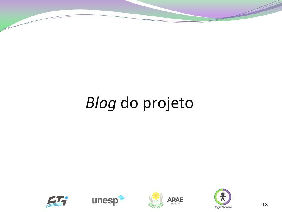 18 Blog do projeto