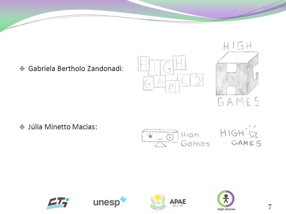 7 Gabriela Bertholo Zandonadi: Júlia Minetto Macias: