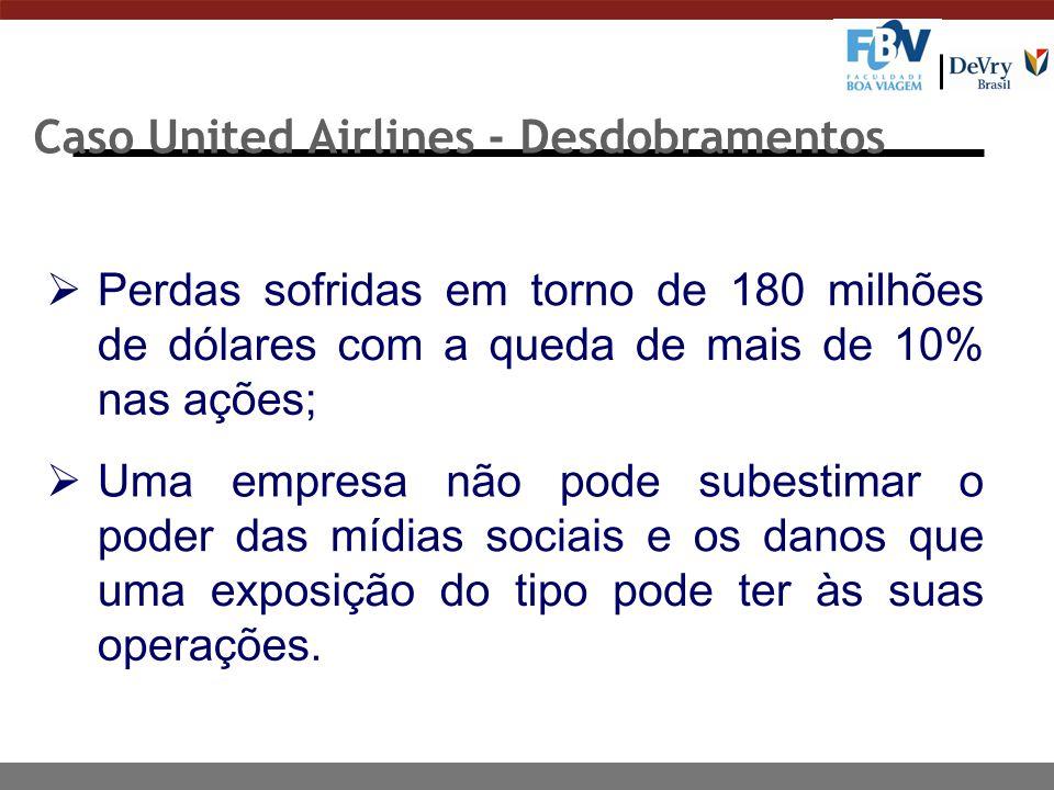 Caso United Airlines - Desdobramentos