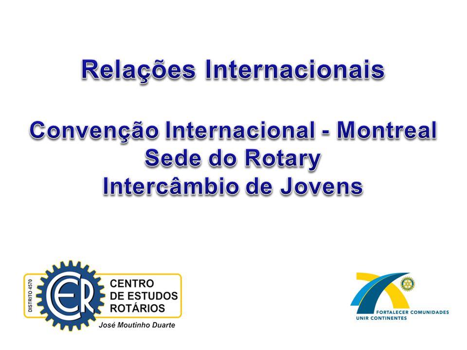 22 Distrito 4570 Participação do Presidente no PIJ O Rotary está fortalecendo a atenção os jovens com a criação da 5ª.