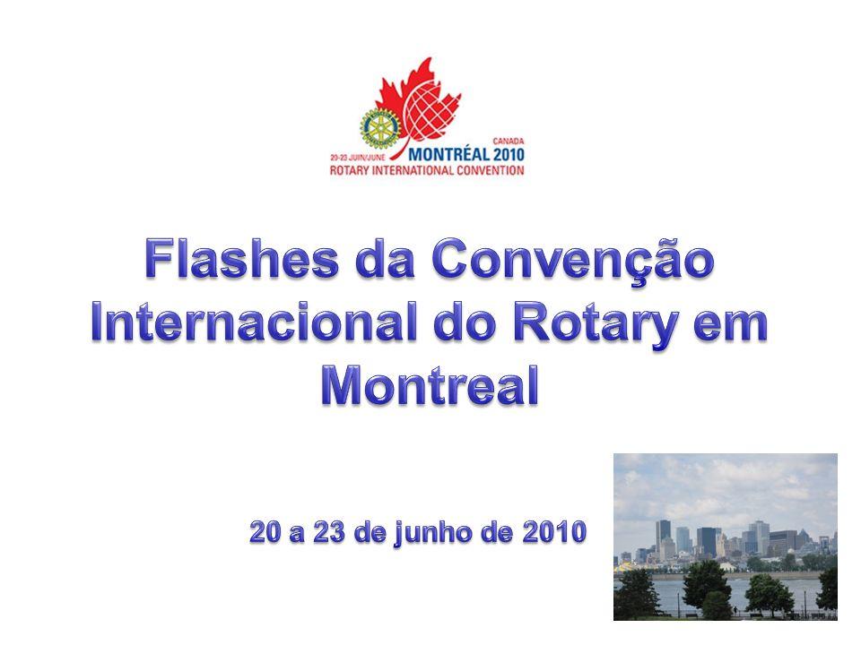 3 Distrito 4570 A Convenção Quando se fala em Convenção Internacional de Rotary, devemos ter em mente a enorme importância desse evento para a vida rotária.