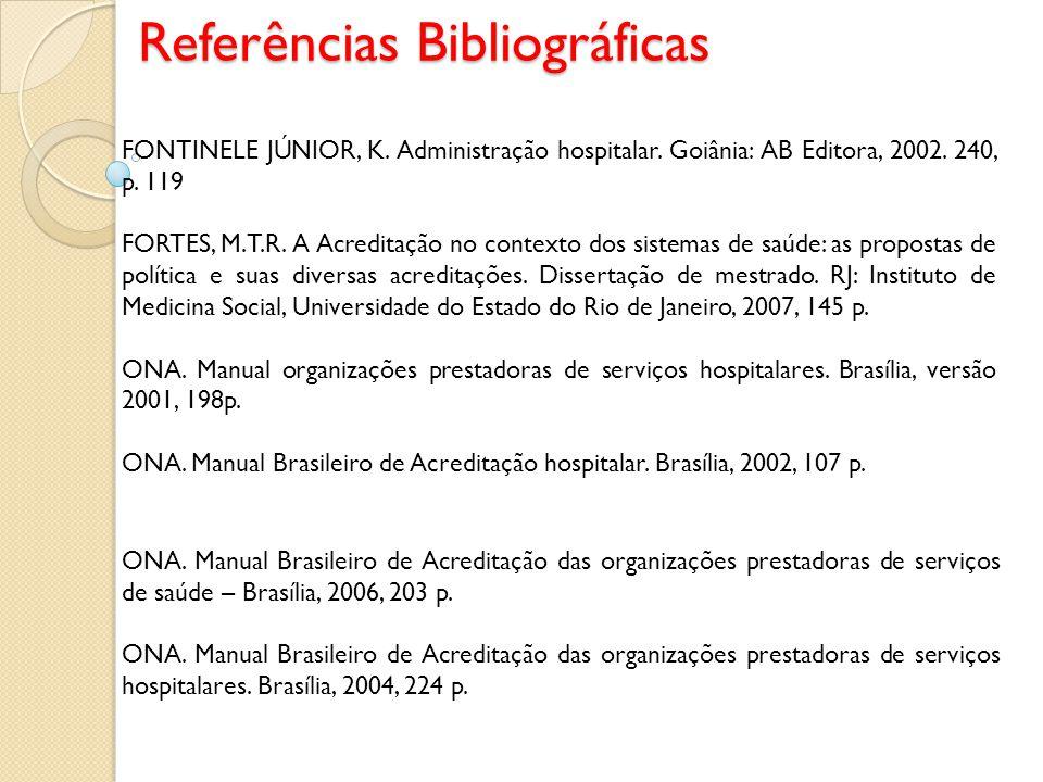 NOVAS ABREVIATURAS CNQP= Comissão Nacional de Qualidade e Produtividade (CNQP) PBQP = Programa Brasileiro da Qualidade de Produtividade ONA = Organização Nacional de Acreditação SBA = Sistema Brasileiro de Acreditação