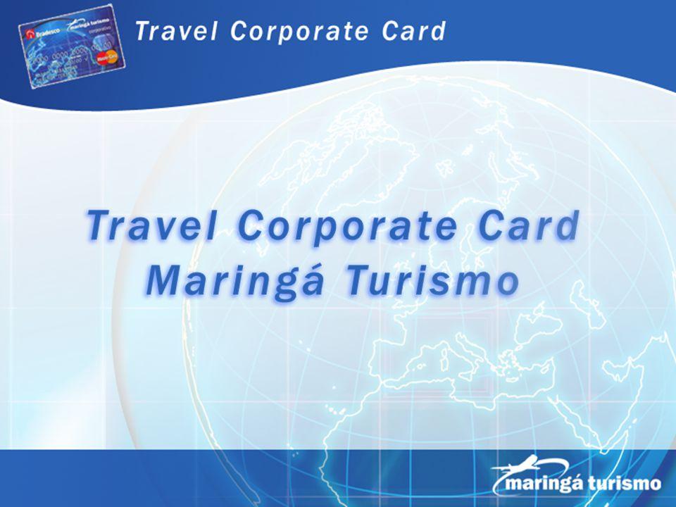 Travel Corporate Card Travel Corporate Card é um instrumento de pagamento e gerenciamento das despesas de viagens de negócios e representação.