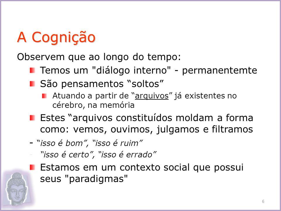 1.Ignorância 2. Formações Cármicas 3. Consciência 4.