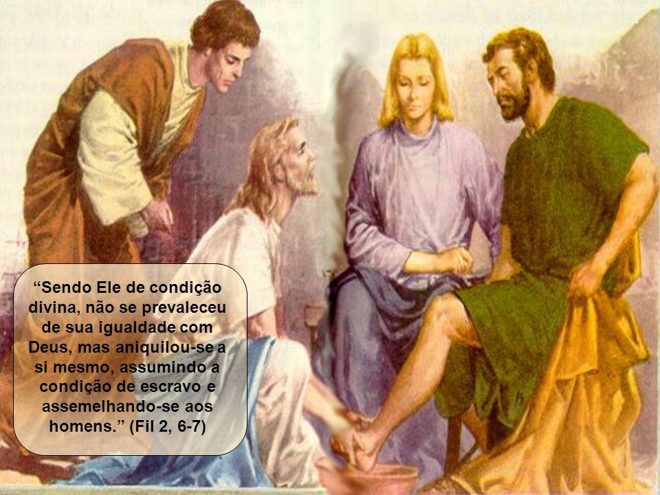 Estão limpos, porque aceitaram a Sua Palavra e O seguiram. (cf. Jo 15,3)