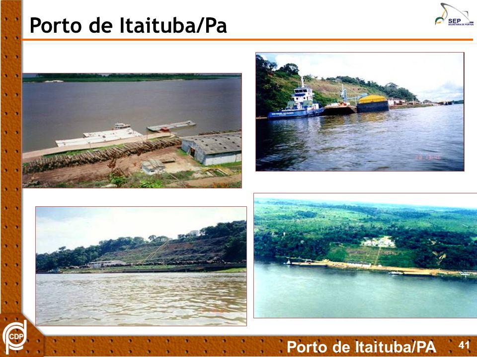41 Porto de Itaituba/PA Porto de Itaituba/Pa