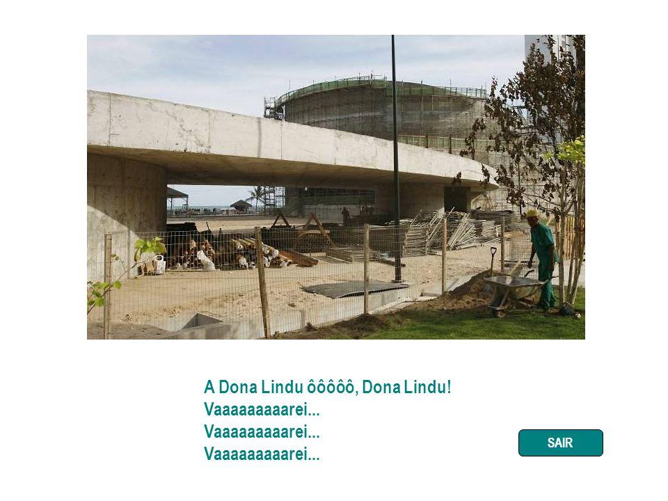 Dona Lindu é o parque mais feio de Boa Viagem É todo concreto, não tem nenhum pé de bambu Oscar Niemeyer, arquiteto idoso Fez um projeto feioso Só pra