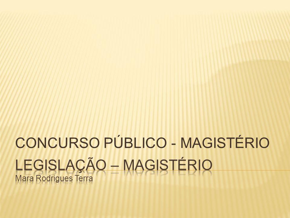 CONCURSO PÚBLICO - MAGISTÉRIO