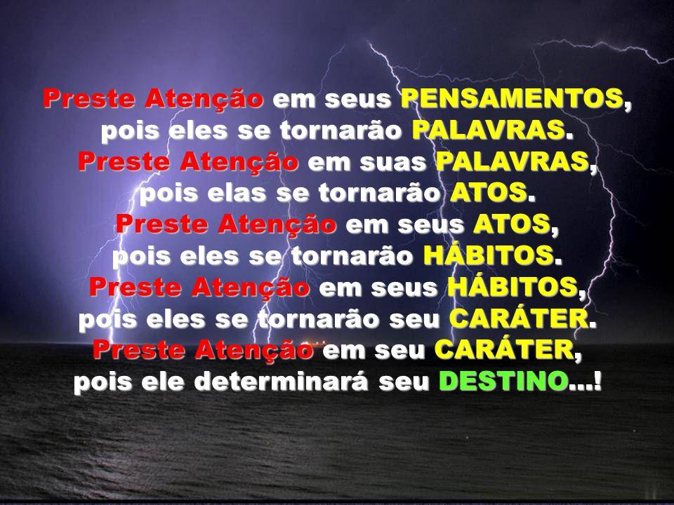 SEJANOS SENHORES DE NOSSA LINGUA, PARA NÃO SERMOS, ESCRAVOS DE NOSSAS PALAVRAS....