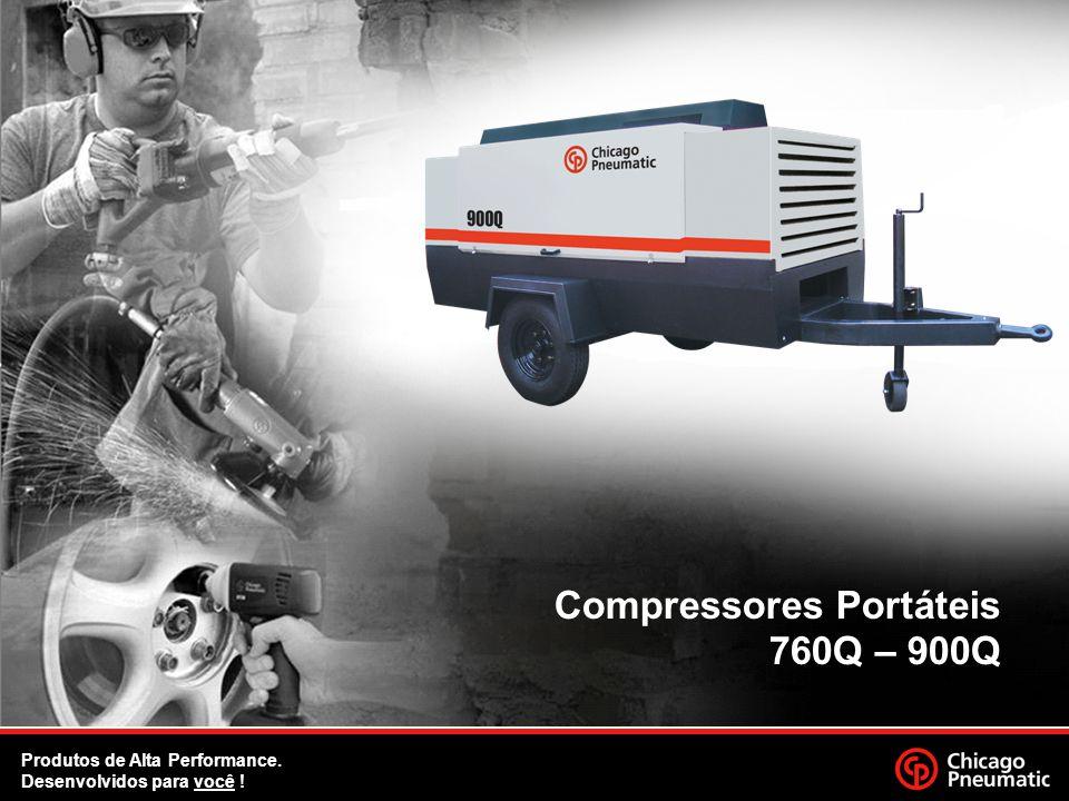 1. Compressores Portáteis 760Q – 900Q Produtos de Alta Performance. Desenvolvidos para você !