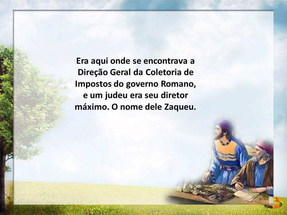 Mas, apesar de ter dinheiro, poder, uma família e uma boa saúde, Zaqueu não era feliz.