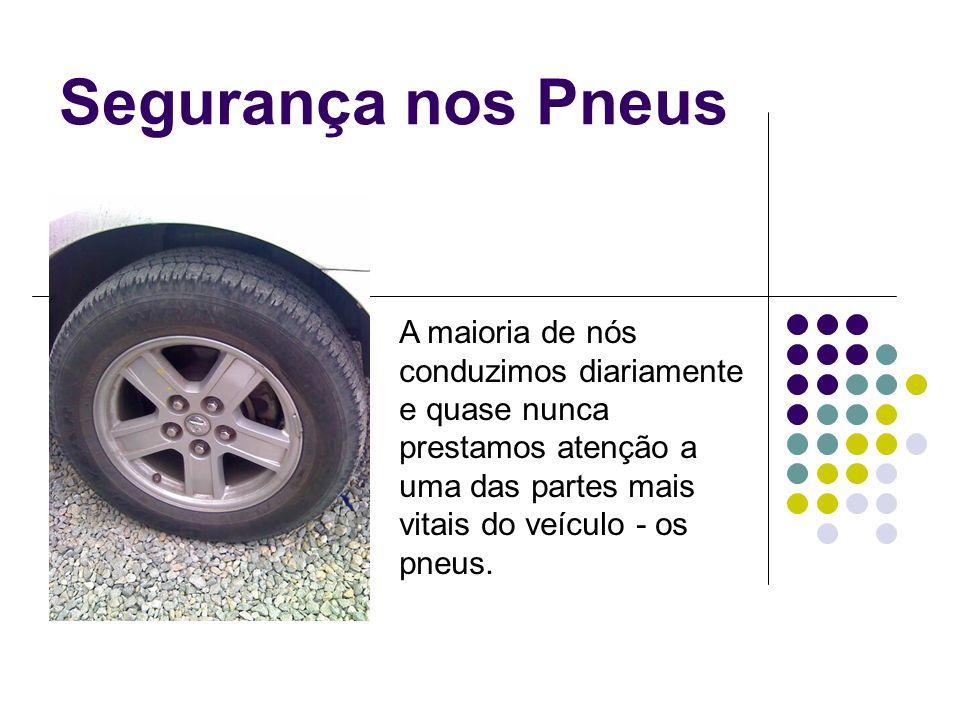 Segurança nos Pneus A tabela mostra o índice de carga e a capacidade máxima de carga por pneu em libras e em quilogramas.