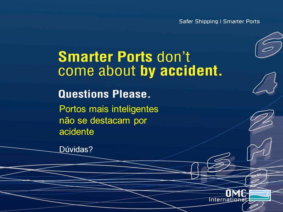 Portos mais inteligentes não se destacam por acidente Dúvidas?