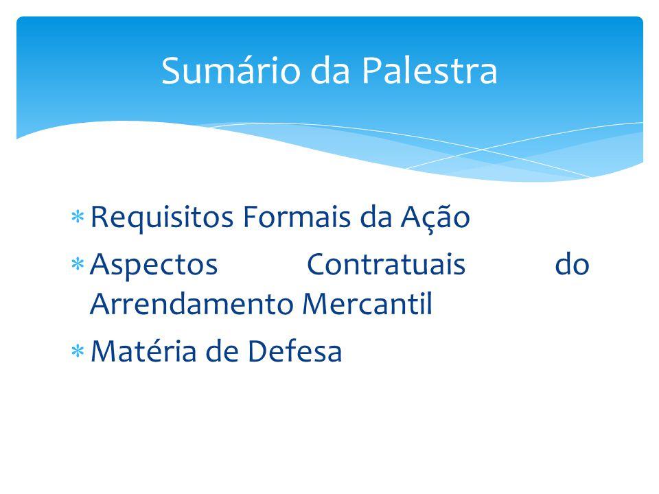 Requisitos Formais Gerais (art.