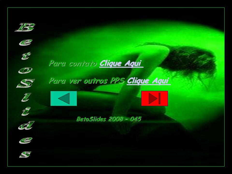 Para contato Clique Aqui Clique AquiClique Aqui Para ver outros PPS Clique Aqui Clique AquiClique Aqui BetoSlides 2008 – 045