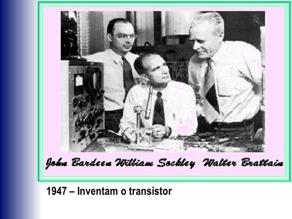 1947 – Inventam o transistor