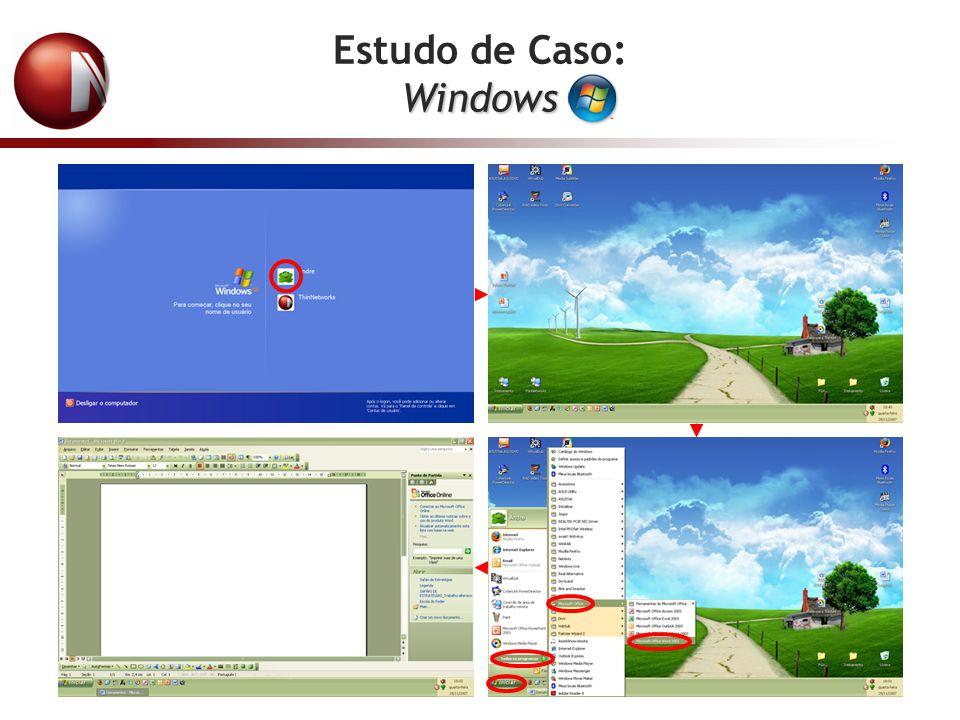 Estudo de Caso:Windows