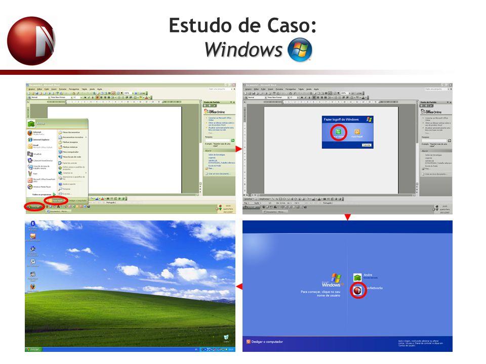 Loginsessão é criada Perfil PC Host Quando o usuário faz Login, a sessão é criada a partir de um Perfil localizada no PC Host.