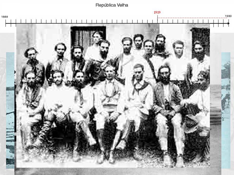 Coluna Prestes (1925 a 1927) Tenentes percorrem o Brasil para conscientizar o povo para lutar por mudanças Movimento político-militar de jovens oficia