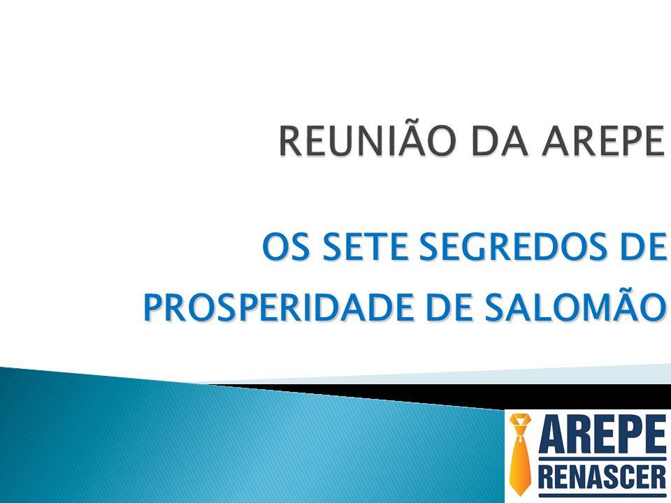 OS SETE SEGREDOS DE PROSPERIDADE DE SALOMÃO