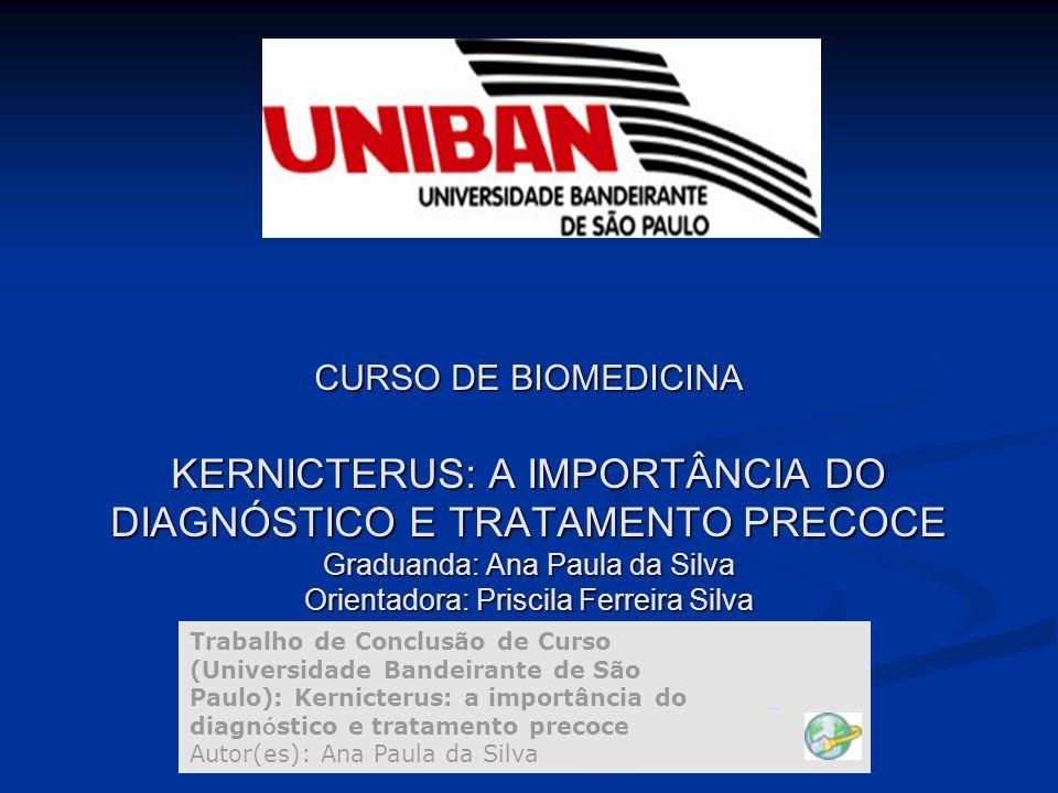 KERNICTERUS KERNICTERUS É uma síndrome neurológica resultante do depósito de bilirrubina não- conjugada nos gânglios da base e diversos núcleos do tronco cerebral.