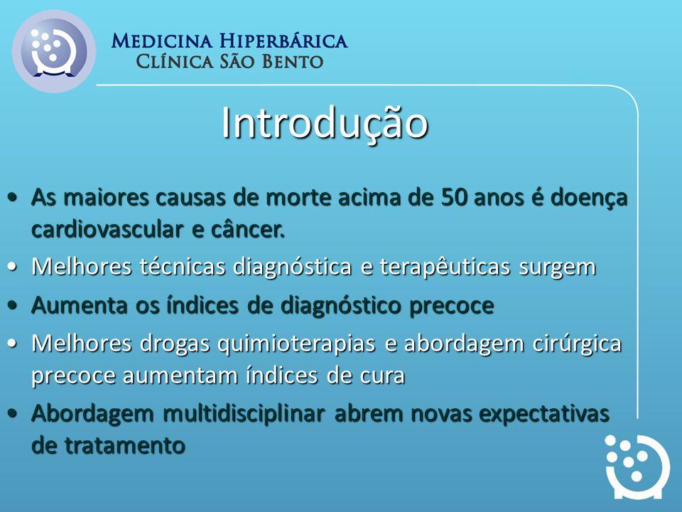 Introdução As maiores causas de morte acima de 50 anos é doença cardiovascular e câncer.As maiores causas de morte acima de 50 anos é doença cardiovas