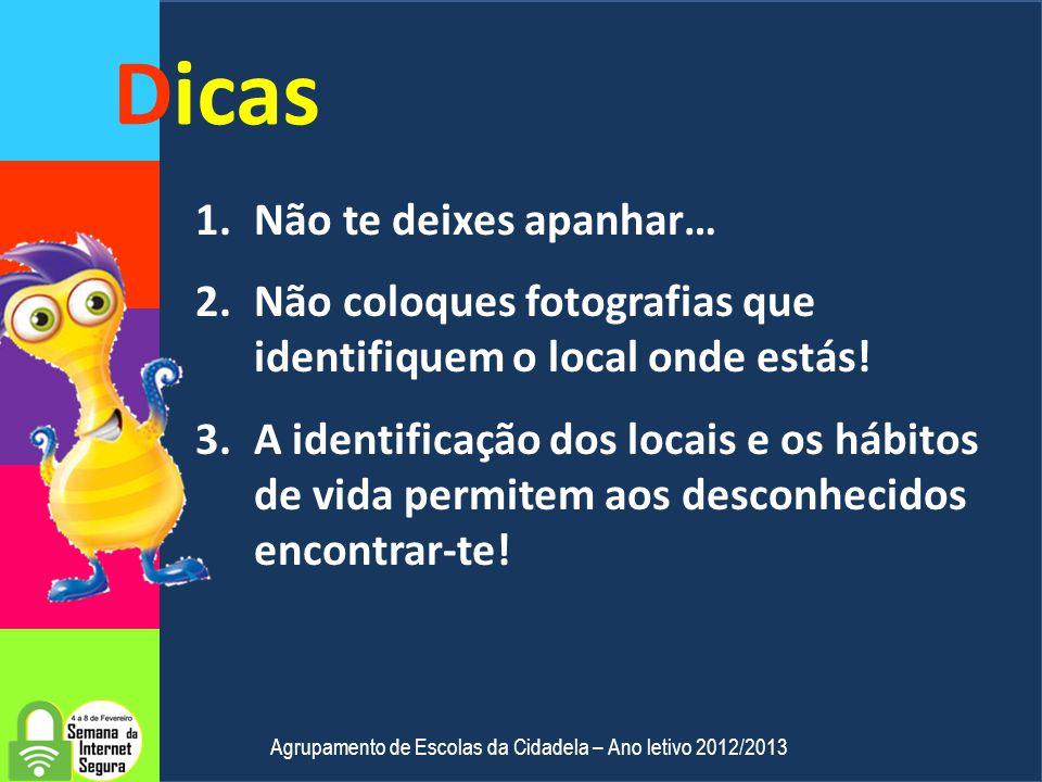 Que diferenças existem? Agrupamento de Escolas da Cidadela – Ano letivo 2012/2013