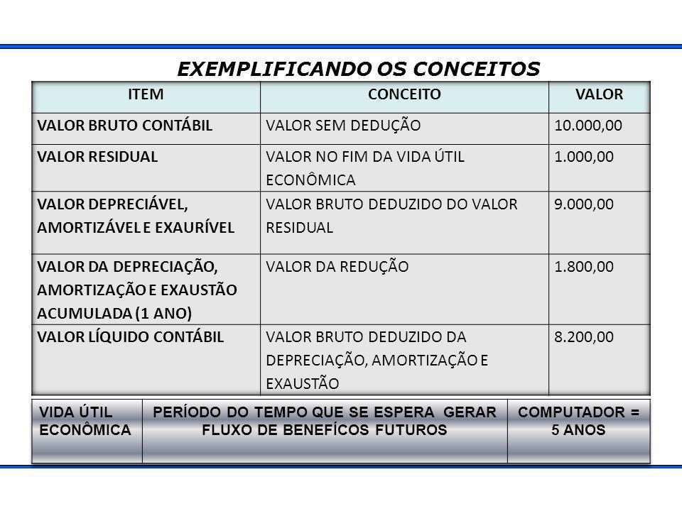 EXEMPLIFICANDO OS CONCEITOS