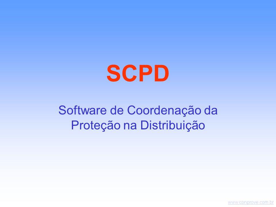 www.conprove.com.br SCPD Software de Coordenação da Proteção na Distribuição