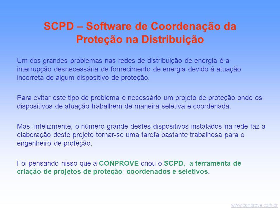 www.conprove.com.br Um dos grandes problemas nas redes de distribuição de energia é a interrupção desnecessária de fornecimento de energia devido à atuação incorreta de algum dispositivo de proteção.