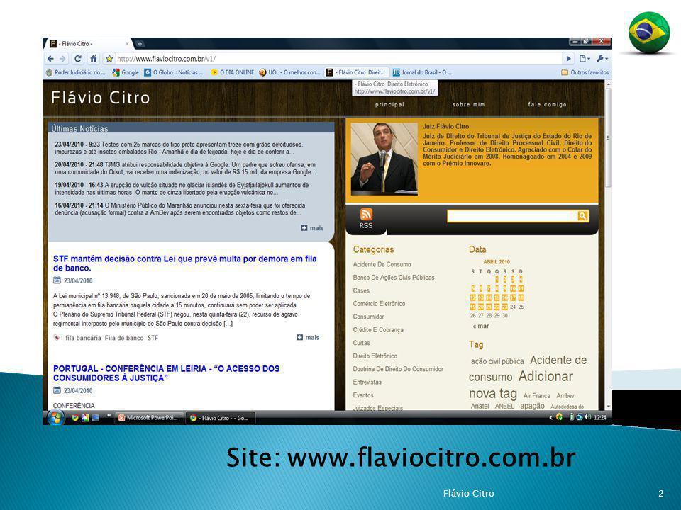 Site: www.flaviocitro.com.br 2Flávio Citro