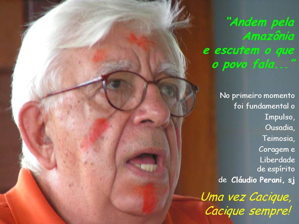 Dediquem-se a andar pela Amazônia.Visitem as comunidades, as igrejas locais, as organizações...